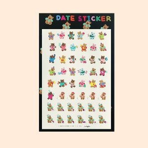 {new} DATE STICKER (A5)